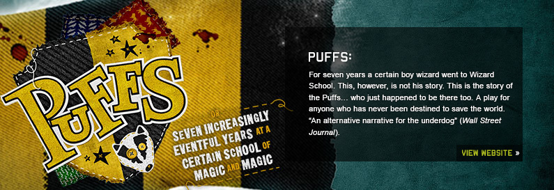 Puffs New World Stages Off Broadway Show Tickets