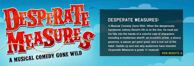 Desperate Measures New World Stages Off Broadway Musical